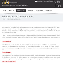 UX Design - Web Development Company