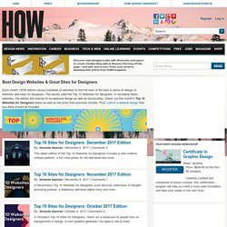 Top 10 Websites For Designers - June 2012