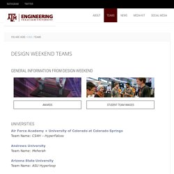 Design Weekend Teams
