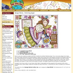 Design Works - Stitching Angel - Cross Stitch World