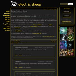Design Your Own Sheep | electric sheep