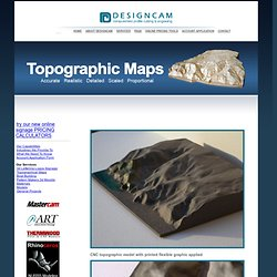 DESIGNCAM - Services - Topographical Maps