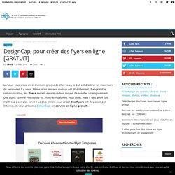 DesignCap, pour créer des flyers en ligne [GRATUIT]
