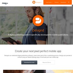 Designd - Digital publishing software from Mag+
