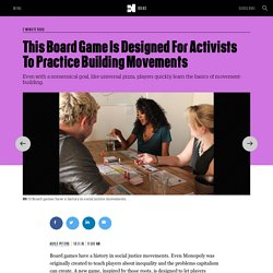 This Board Game Is Designed For Activists To Practice Building Movements