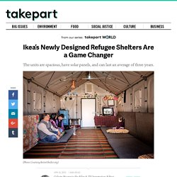 Ikea's Newly Designed Refugee Shelters Are a Game Changer