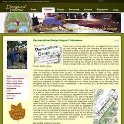Permaculture - Diploma Design Support Intensives