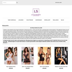 Buy Babydolls Lingerie & Intimate Apparel