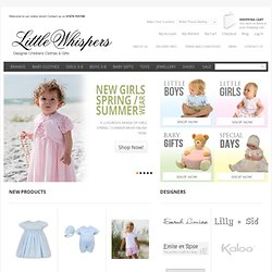 Little Whispers - exclusive Baby Clothes and Gifts