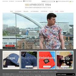 Mens Designer Clothes | Designer Clothing - Buy at Aphrodite Clothing Online UK