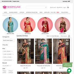 Indian Wedding Sarees Online UK, Bollywood Designer Sari Blouse - Shopkund