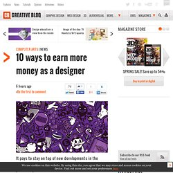 10 ways to earn more money as a designer