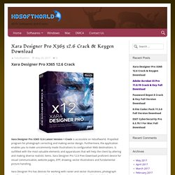 Xara Designer Pro X365 12.6 Crack & Keygen Download