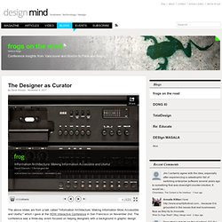 The Designer as Curator