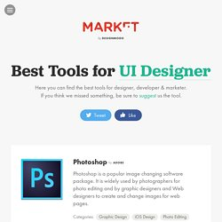 Best Tools for Designer, Developer & Marketer