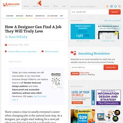 How A Designer Can Find A Job They Will Truly Love