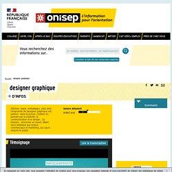 designer graphique - Onisep
