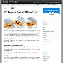 Web Designer?s Guide to PNG Image Format