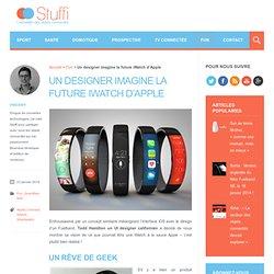 Un designer imagine la future iWatch d'Apple