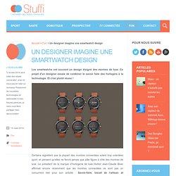Un designer imagine une smartwatch design