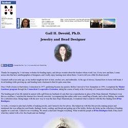 Dr. Gail H. Devoid: Designer