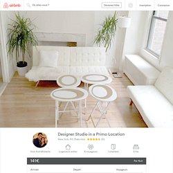 Designer Studio in a Primo Location - Appartements à louer à New York