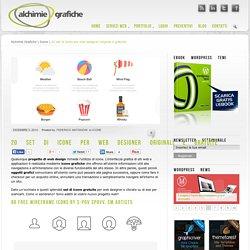 20 set di icone per web designer originali e gratuite