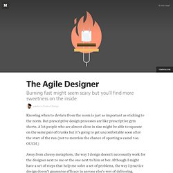 The Agile Designer — Product Design