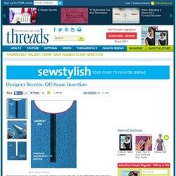 Designer Secrets: Off-Seam Insertion