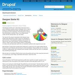 Designer Starter Kit