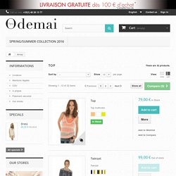Designer Tops - Buy Designer Summer Tops Online - Odemai