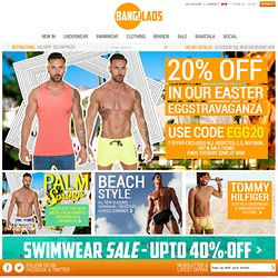 Men's Underwear & Swimwear | FREE DELIVERY | Shop at BangLads