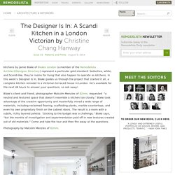 The Designer Is In: A Scandi Kitchen in a London Victorian: Remodelista