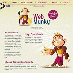 Website Designer Dubai, Graphic Design Dubai - WebMunky: We Create Online Experiences