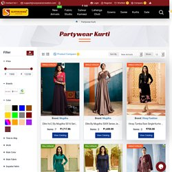 Buy Designer Party Wear Kurti Online USA, and UK at Wholesale Price