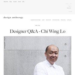 Designer Q&A - Chi Wing Lo — Design Anthology