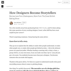 How Designers Become Storytellers – RE: Write