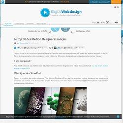 Le top 50 des Motion Designers Français - motion_design-inspiration