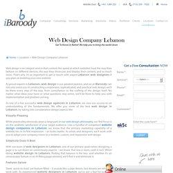 Web Designers Companies Lebanon, Lebanese Web Designers