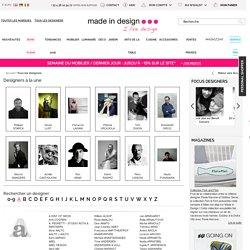 Tous les designers contemporains