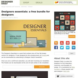 Designers essentials: a free bundle for designers