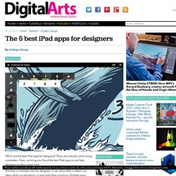 The 5 best iPad apps for designers
