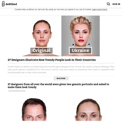 27 Designers Illustrate How Trendy People Look In Their Countries