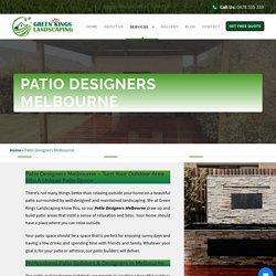 Patio Designs Melbourne