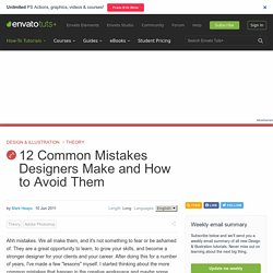 How Designers Can Avoid Making Mistakes