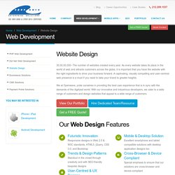 Hire an Expert Web Designer to Build a Website with Modern Design Trends