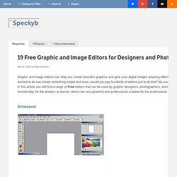 19 Amazing Free Graphic and Image Editors for Designers and Phot