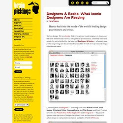 Designers & Books: What Iconic Designers Are Reading