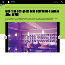 Meet The Designers Who Reinvented Britain After WWII