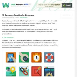 10 Awesome Freebies for Designers